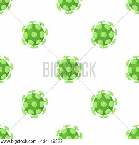 Bacterial Cell Pattern Seamless Background Texture Repeat Wallpaper Geometric Vector