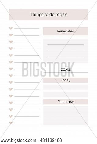 Planner For Life And Business, Planner Sheets, Organizer For Personal And Work Issues