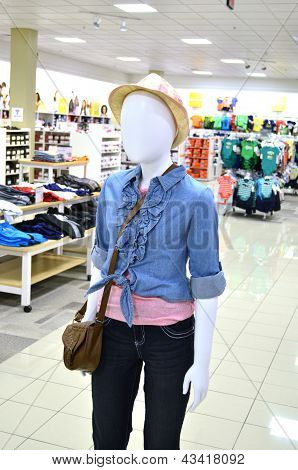 Fashion Display, Dummy, Model, Identity, Who Am I?
