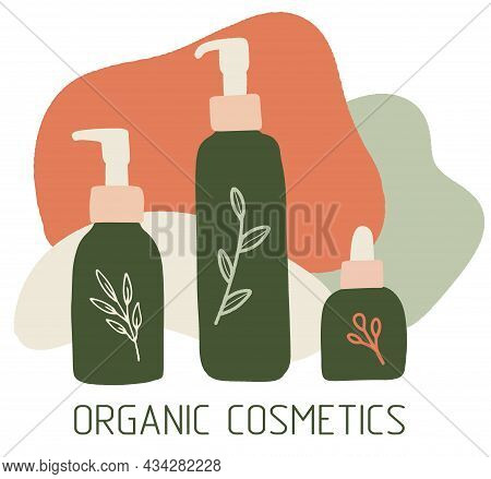 Organic Cosmetics Collection, Cosmetic Packaging, Bottles, Tubes, Womens Items, Eco Products, Eco Co