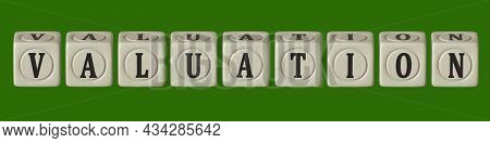 Cubes With The Inscription