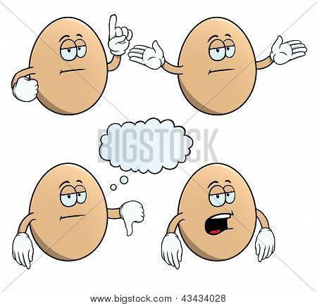 Bored egg set