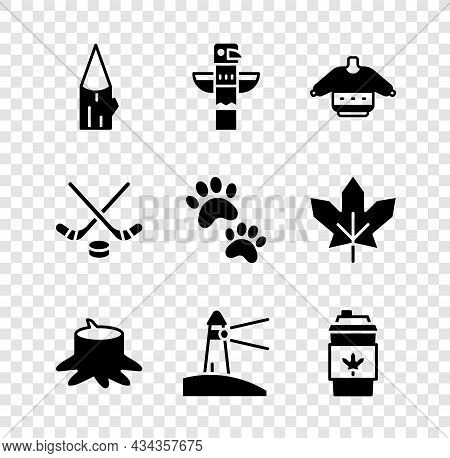 Set Wooden Log, Canadian Totem Pole, Christmas Sweater, Tree Stump, Lighthouse, Coffee Cup Go, Ice H