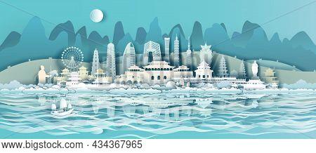 Travel China Landmarks Of Beijing, Shanghai, Taiwan, Xian, Macao, Taiwan, With Gold City, Travelling