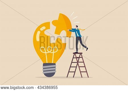Solve Business Problem With Creativity, Finishing Or Complete Brilliant Idea, Work Solution Or Busin