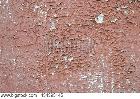 Rust Metal Background. Rotten Steel, Metal Texture With Scratches And Cracks.