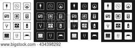 Set Ampere Meter, Multimeter, Voltmeter, Electrical Outlet, Measuring Instruments, Usb Cable Cord, M