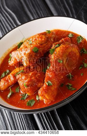 Ayam Masak Merah Delicious Fried Chicken Marinated With Turmeric And Simmered In A Mildly Spiced Tom