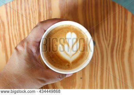 Hot Cofffee, Cappuccino Coffee Or Latte Coffee For Serve
