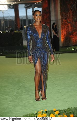 Issa Rae at the Academy Museum of Motion Pictures Opening Gala held at the Academy Museum of Motion Pictures in Los Angeles, USA on September 25, 2021.
