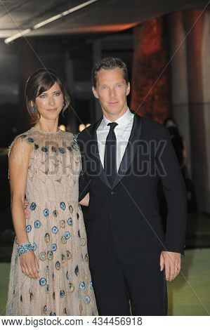 Sophie Hunter and Benedict Cumberbatch at the Academy Museum of Motion Pictures Opening Gala held at the Academy Museum of Motion Pictures in Los Angeles, USA on September 25, 2021.