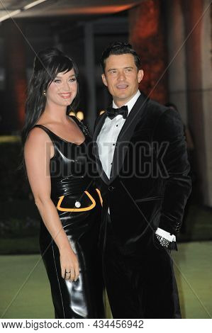 Katy Perry and Orlando Bloom at the Academy Museum of Motion Pictures Opening Gala held at the Academy Museum of Motion Pictures in Los Angeles, USA on September 25, 2021.