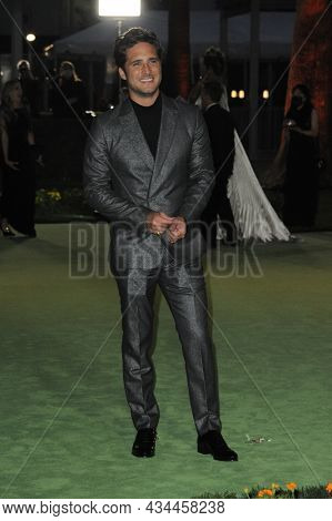 Diego Boneta at the Academy Museum of Motion Pictures Opening Gala held at the Academy Museum of Motion Pictures in Los Angeles, USA on September 25, 2021.