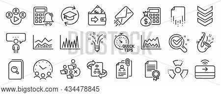 Set Of Education Icons, Such As Remove Team, Continuing Education, Inspiration Icons. Video Conferen