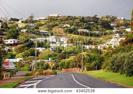 Town Road Hill View Rural