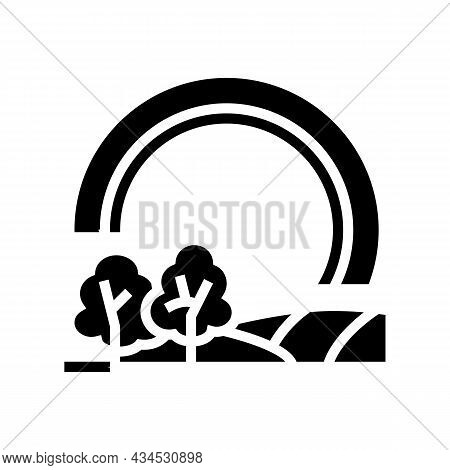 Touring Tires Glyph Icon Vector. Touring Tires Sign. Isolated Contour Symbol Black Illustration
