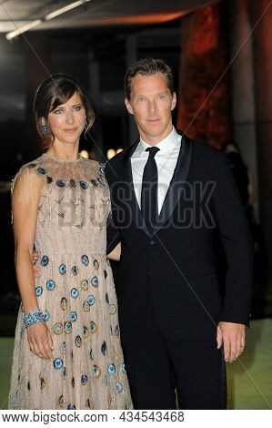 Sophie Hunter and Benedict Cumberbatch at the Academy Museum of Motion Pictures Opening Gala held in Los Angeles, USA on September 25, 2021.