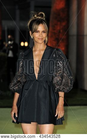 Halle Berry at the Academy Museum of Motion Pictures Opening Gala held in Los Angeles, USA on September 25, 2021.