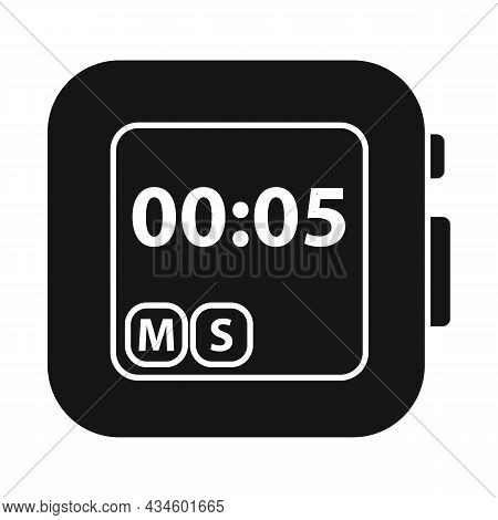 Vector Illustration Of Stopwatch And Clock Logo. Web Element Of Stopwatch And Tool Stock Symbol For