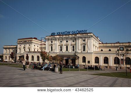 Krakow Glowny Train Station