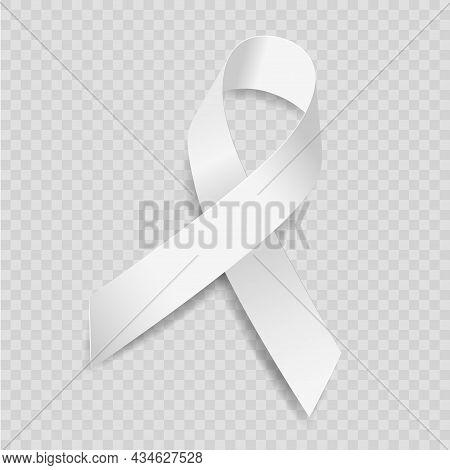 White Ribbon Awareness Bone Cancer, Coronavirus, Osteoporosis, Poverty, Victims Of Terrorism, Adopti