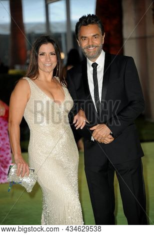 Alessandra Rosaldo and Eugenio Derbez at the Academy Museum of Motion Pictures Opening Gala held in Los Angeles, USA on September 25, 2021.