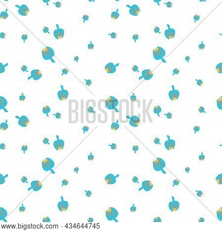 Vector Seamless Pattern Lgbtq Isolated Background Flat.bright,hippie,peaceful Hand Painted Print.des