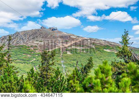 Snezka, Or Sniezka - The Highest Mountain Of Czech Republic, Giant Mountains - Krkonose National Par