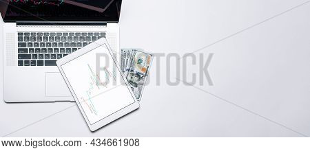 Job Application. Finance Application For Sell, Buy And Analysis Profit Dividend Statistics. Investme
