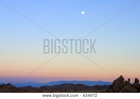 High Desert Moonrise