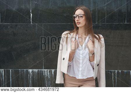 Beautiful Young Fashion Stylish Woman