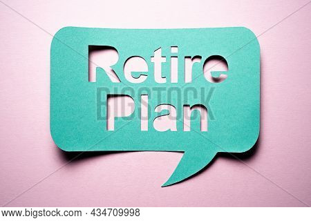 401k Retirement Funds. Retire Plan Investment And Saving