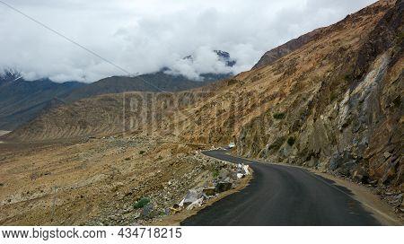 Mountain Scenery Of Ladakh, Northern India