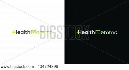 Modern And Elegant Health Memo Logo Design 1