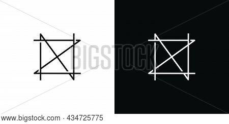 Unique And Modern Nz Initials Logo Design