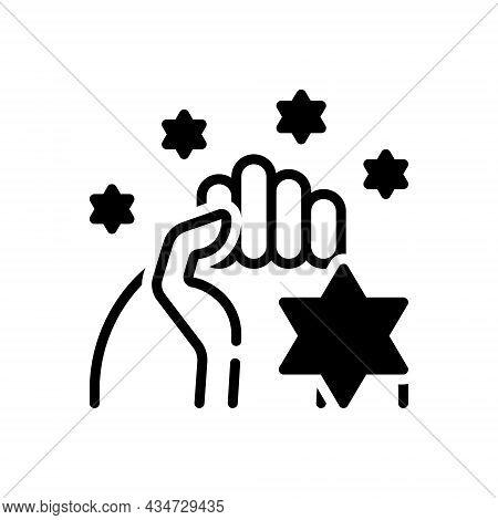 Black Solid Icon For Pride Dignity Egotism Pridefulness Honor Pleasure Self-confidence Self-respect
