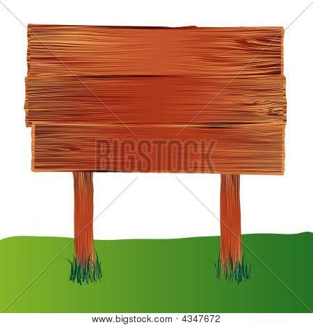 Holz Zeichen