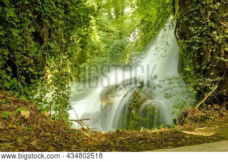 The Wonderful Marmore Waterfalls, Natural Park, Terni, Umbria, Italy