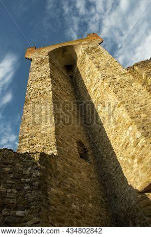The Fortress Of Passignano Sul Trasimeno, Umbria, Italy