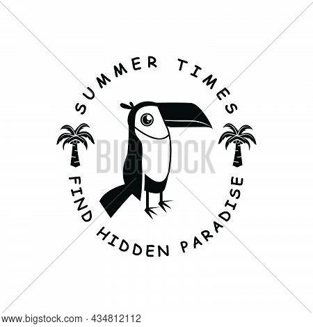 Find Hidden Paradise Design Vector For Print Design