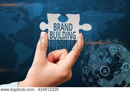 Inspiration Showing Sign Brand Building. Business Overview Activities Associated With Establishing A