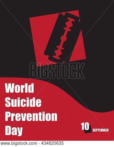 The Calendar Event Is Celebrated In September - Suicide Prevention Day - Cut Your Veins