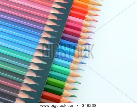Colored Pencils Box