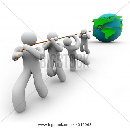 Team Pulling The World
