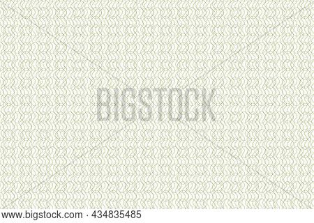 Vector Graphic Of Seamless Geometric Pattern In Smooth Color. Rectangle With Smooth Edges Background