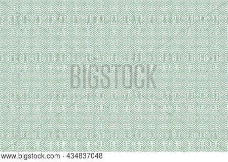 Vector Graphic Of Seamless Geometric Pattern. Certificate Texture. Watermark Banknote Pattern. Good