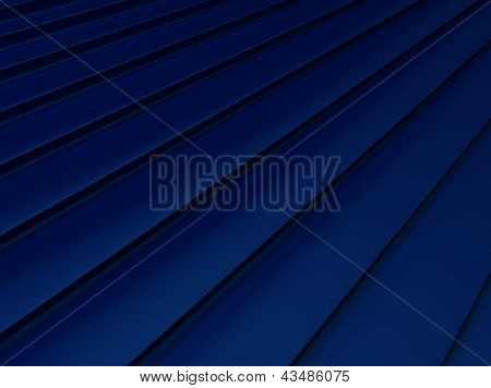 Blue Striped Metallic Background