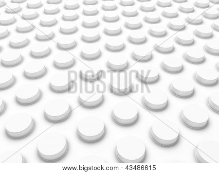 Industrial White Background .
