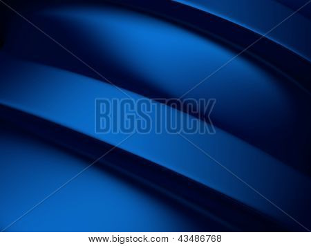 Elegant Blue Metallic Background