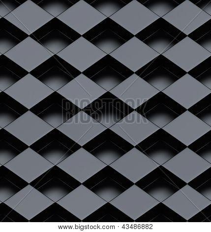 Seamless Metallic 3D Background
